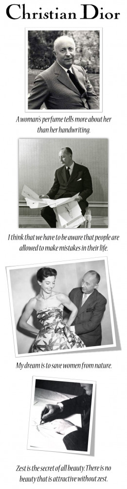Christian Dior Quotes