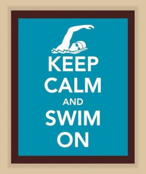 Swimming Sayings
