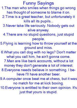 Funny Sayings by GoddessofHockey