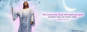 ... God will lead you and protect you on every side. Bible Verses FB Cover