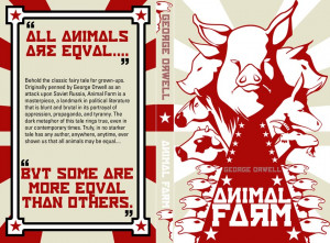 Animal Farm book cover v2A by AstroCrush