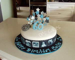 BROTHER'S 60TH BIRTHDAY CAKE