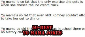 50 Best Yo Mama Jokes