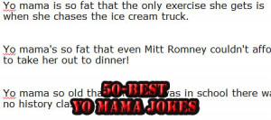 50 Best Yo Mama Jokes