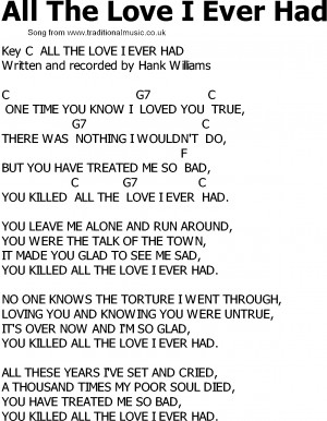 Click here to download the song in PDF format for printout etc.