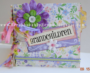 Grandchildren Quotes For Scrapbooking Pages 2-3, the quote has 2