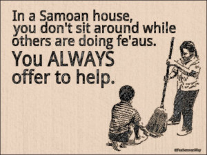 If I date another Non-Samoan girl - she will be informed of this on ...