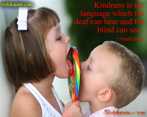 Twain , deaf, blind , Kindness / Nice Quotes – Inspirational Quotes ...