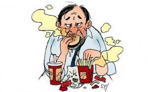 Stinky People Commuter spy: stinky food -