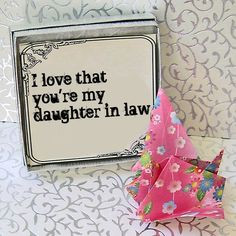 feel about my Daughters-in-Law. My son fell in love with a beautiful ...