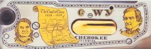 Cherokee Trail of Tears Tribute Rifle