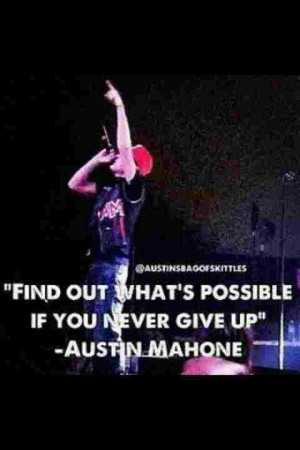 Austin mahone quote