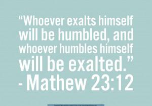Humbled Verse