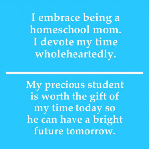 Homeschool Mom Quotes