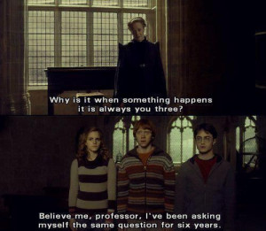 funny harry potter quotes | Quote HarryPotter Platform Inspiring ...