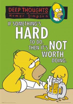 Homer Simpson Quote