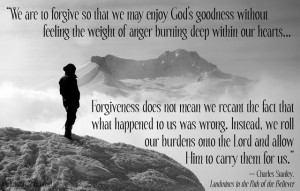 Forgiveness Rolls Away Our Burden - Photo Source: Pixabay ...
