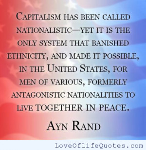 Ayn Rand Quotes On Capitalism