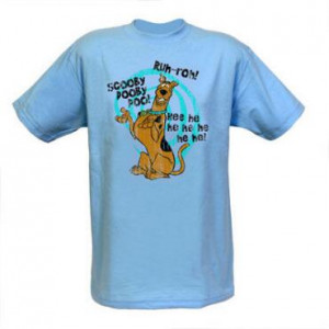 Home » Scooby-Doo » Shirts » Scooby-Doo Scooby Quotes Adult T-Shirt