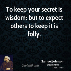 Samuel Johnson Wisdom Quotes
