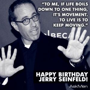 Happy Birthday Jerry Seinfeld