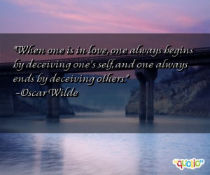 quotes about deceiving follow in order of popularity. Be sure to ...