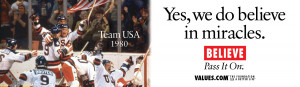 Miracle On Ice Movie Quotes Hockey 14x48