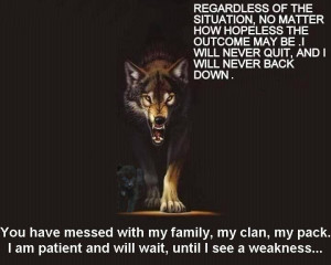 ... cvs will wolf family quotes lone wolf quotes sayings wolf pack badge