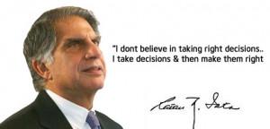 Famous Quotes of Dhirubhai Ambani & Ratan Tata