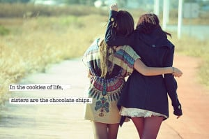 Sisters Are The Chocolate Chip