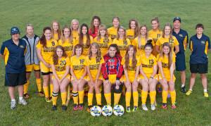 College Women Soccer Team