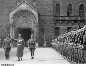 ... Wilhelm Frick and Artillery General Walter Petzel also present