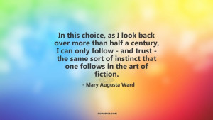 In this choice, as I look back over more than half a century, I can ...