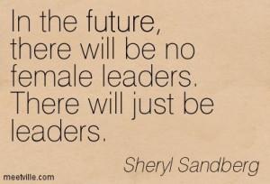 female leaders quote