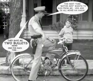 Barney Fife is now a Glendale Park Ranger!