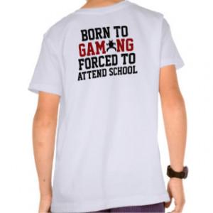 Funny video games junky humor shirt