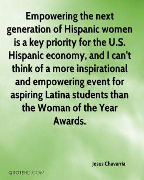 generation of Hispanic women is a key priority for the U.S. Hispanic ...