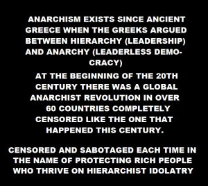 DURING WW1 AND WW2 OVER 40 MILLION ANARCHISTS WERE MURDERED SECRETLY