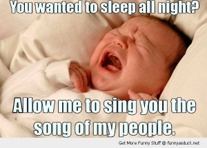 baby kid crying sleep all night song people funny pics pictures pic ...