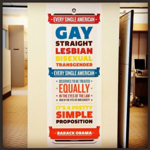 ... : Obama Posts Instagram Picture Touting His New Gay Marriage Stance