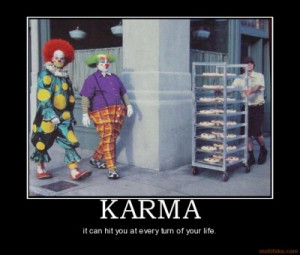 """KARMA: What do you mean """"welcome back?"""" I've never been here or ..."""