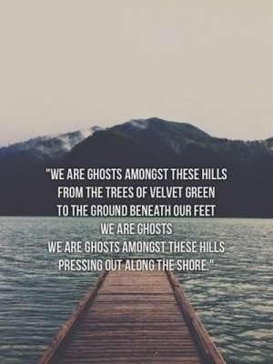 We are Ghosts by James Vincent McMorrow