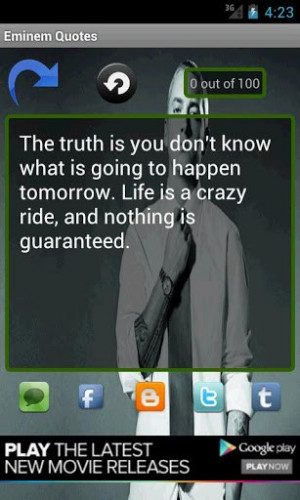 Eminem quotes and songs for your day 630 likes · 0. talking about ...
