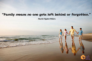 """... means no one gets left behind of forgotten."""" – David Ogden Stiers"""