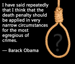 Pro Death Penalty Quotes Obama on capital punishment