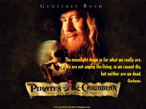 Black Pearl Pirates Of The Caribbean Quotes