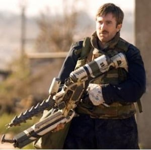 Murdock played by Sharlto Copley