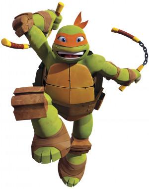 ... Ninja Turtles Teenage Mutant Ninja Turtles Michelangelo Giant Stickers