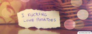 Click below to upload this Love Potatoes Cover!
