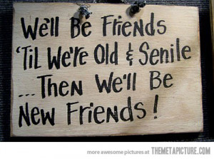 Funny Quotes About Good Friendship ~ funny old good friends quote